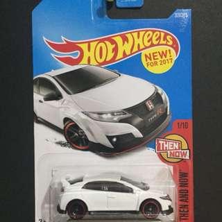 Hotwheels Honda Civic TypeR