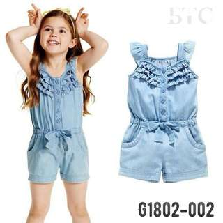 [READY STOCK]  🌸 Denim Rompers