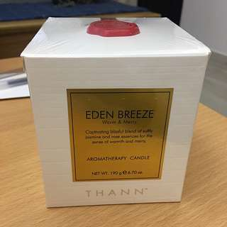 Thann Eden Breeze Aromatherapy Candle