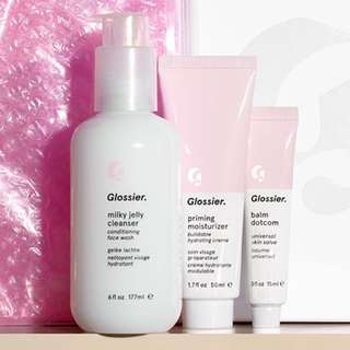 GLOSSIER PO (1-2 WEEKS FROM BATCH CLOSE)