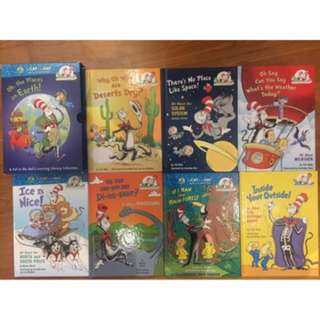 Dr Seuss the cat in the hat library collection