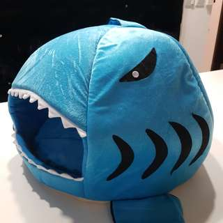 Shark pet house