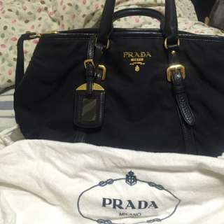 Prada Nylon 2 Way Tote
