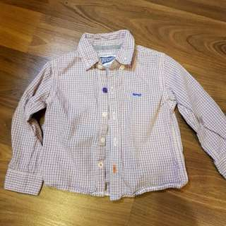 Gingersnaps Long Sleeved Polo (6m)