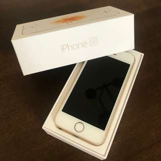 iPhone SE (Gold, 64GB, Open Line)