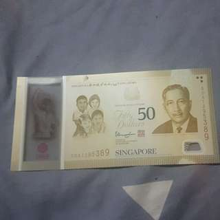 SG$50 note