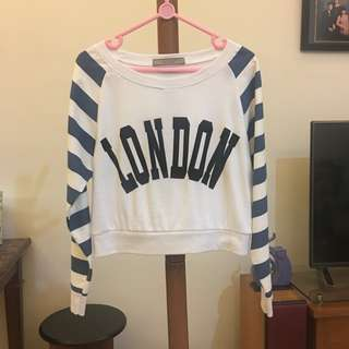 London crop top