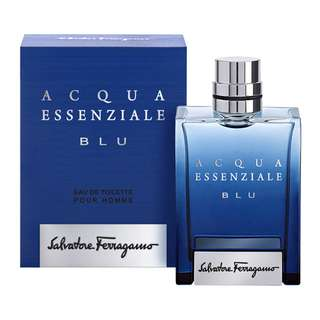 Salvatore Ferragamo Acqua Essenziale Blu EDT for Men (50ml/100ml/Tester) Aqua Essential Blue