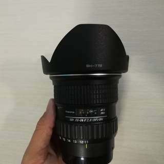 Tokina 11-16mm f2.8 Sony A-mount