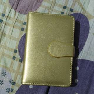 Gold Mini Notebook