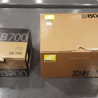 Nikon D800 Body Only FREE SPEED LIGHT