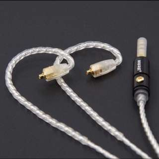 4 Core Silver Plated Copper (SPC) MMCX Westone/ Shure IEM Upgrade Cable