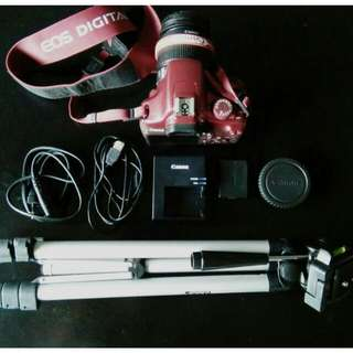 FULL SET CANON EOS 1100D (RED)