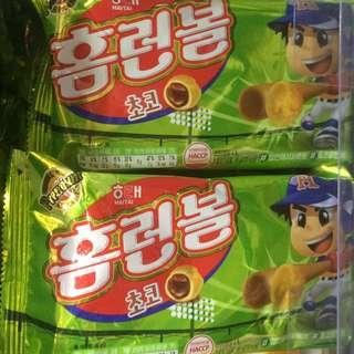 韓國直運 朱古力泡芙