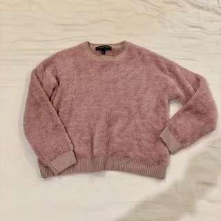 P2,695 Topshop Petite super soft pink sweater US 6