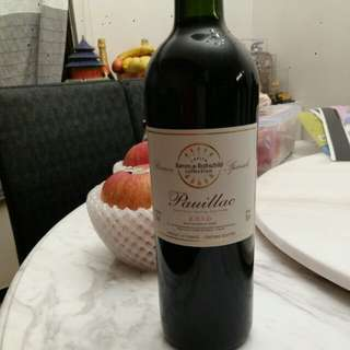 Red wine Pauillac 2010