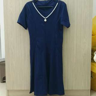 Navy Dress M