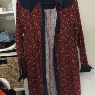 Dress/cardigan