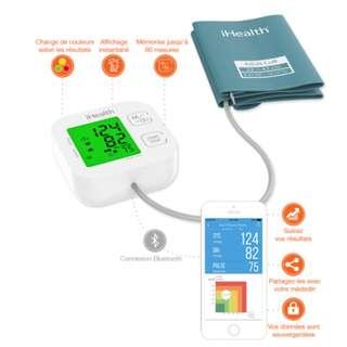 [智能血壓計] 美國 iHealth Track Bluetooth Blood Pressure Monitor (血壓,血壓計,Blood Pressure,FDA,CE,ISO)
