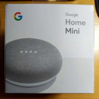 全新未開盒 Google Home Mini