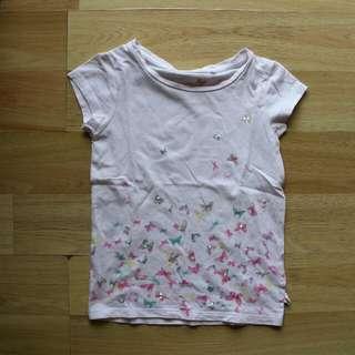Butterfly Shirt/Kaus Kupu-Kupu - Next