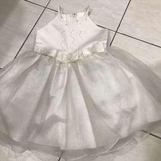Creamy girl dress