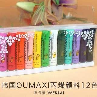 Oumaxi Nail Designs Colors