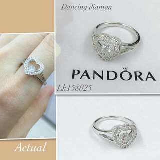 Pandora dancing diamond ring