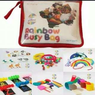 Rainbow Busy Bag