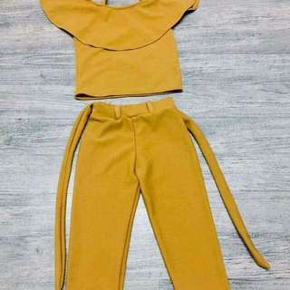 Terno fits 2-5yrs old
