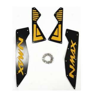 NMAX CNC footrest Aluminum alloy pedal plate