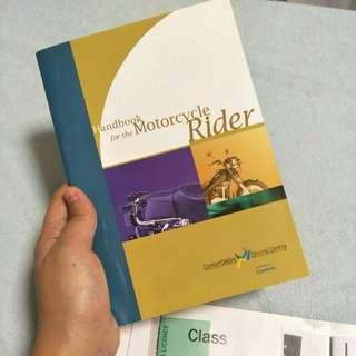 Motocycle handbook