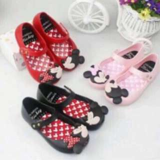 Instock Minnie Mouse inspired Mini Melissa gd quality pm me for Size Available