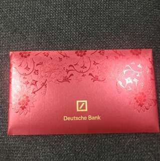 Deutsche bank 2018 red packet