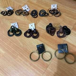 波西米亞/民俗風 耳針式耳環