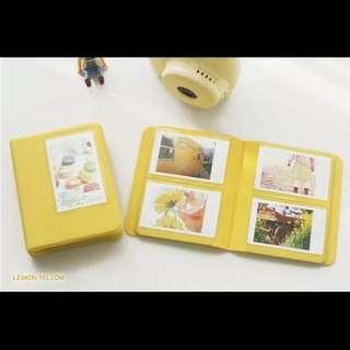 Polaroid Instax Mini Album (Yellow)