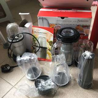Shimono multifunctional food processor ( blender , juicer, mixer, grinder ) 攪拌果汁豆漿絞碎多功能機