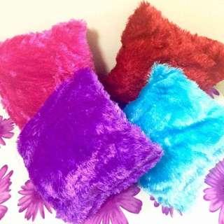 Fuzzy Pillow/Pillowcase