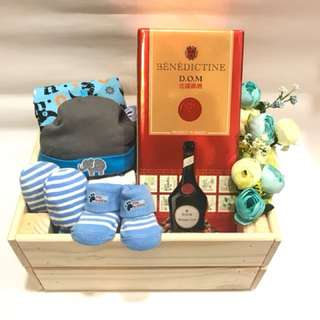 Baby Shower DOM Crate