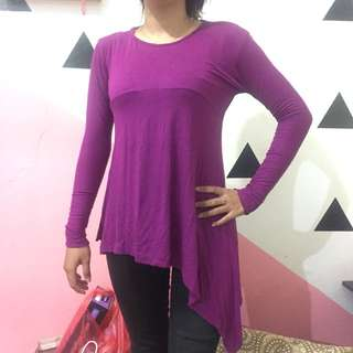 Longtop purple ( ungu )