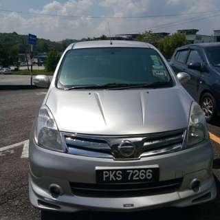Nissan Grand Livina 1.8 Auto 2012