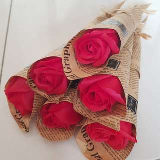 Valentine day flower (Red)