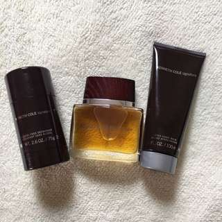 Authentic Kenneth Cole Signature set