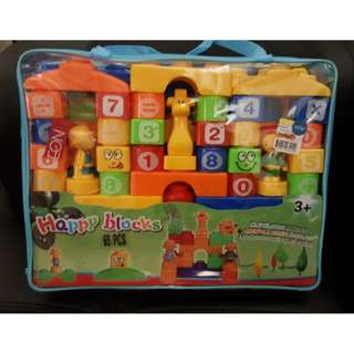 Happy Blocks 65pcs