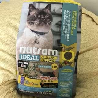 🚚 紐頓 Nutram I19 三效強化貓-雞肉鮭魚配方貓飼料