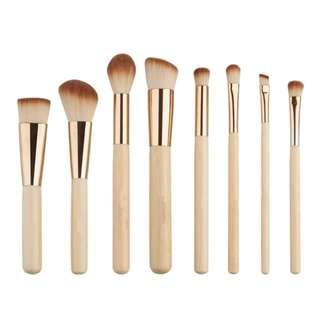 Eco Bamboo basic makeup brush set