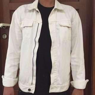 H&M (Broken White jeans denim jacket)