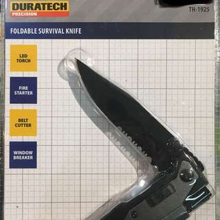 Duratech Foldable Survival Knife