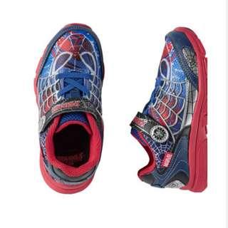 BNIB Strite Rite Spider Man Spidey Sense Sneakers Size 3