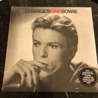 David Bowie - changesonebowie . Vinyl Lp. New